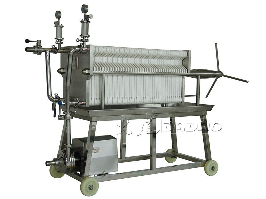 BASB400UN-1聚丙烯板框过滤机