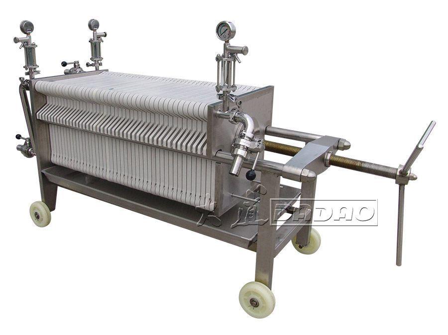 BASB400UN-2粗精滤一体过滤机_板片式过滤机
