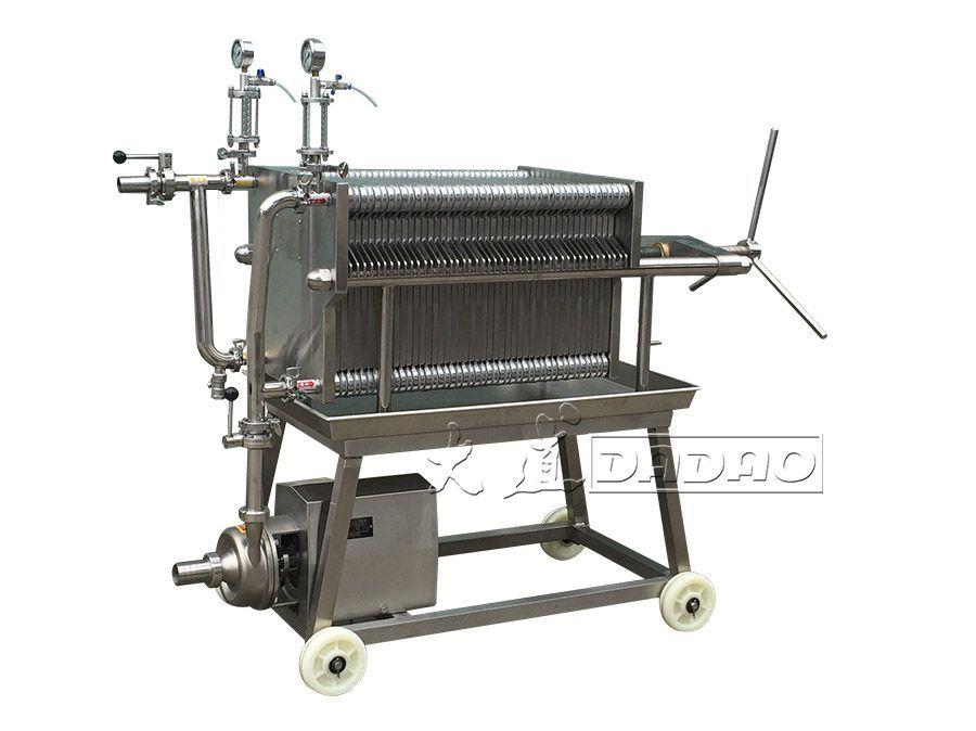 BASB400NN-1不锈钢板框过滤机_不锈钢板框压滤机